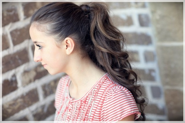 DIY: Fast and easy hairstyles - styling ideas with instructions - DIY fast and easy hairstyles 11
