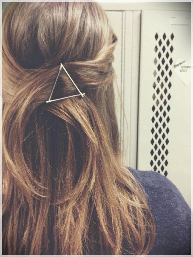 DIY: Fast and easy hairstyles - styling ideas with instructions - DIY fast and easy hairstyles 21
