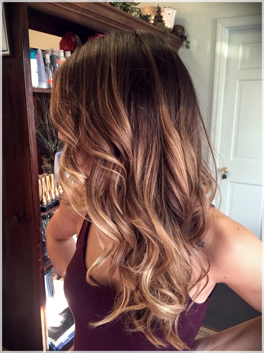 caramel brown hair color ideas 10 - Rocking caramel brown hair color