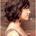 There are some wonderful short wavy haircuts for ladies to give a try this season - short curly haircuts 2018 10