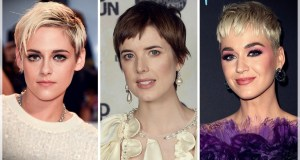 short hairstyle for autumn 2018