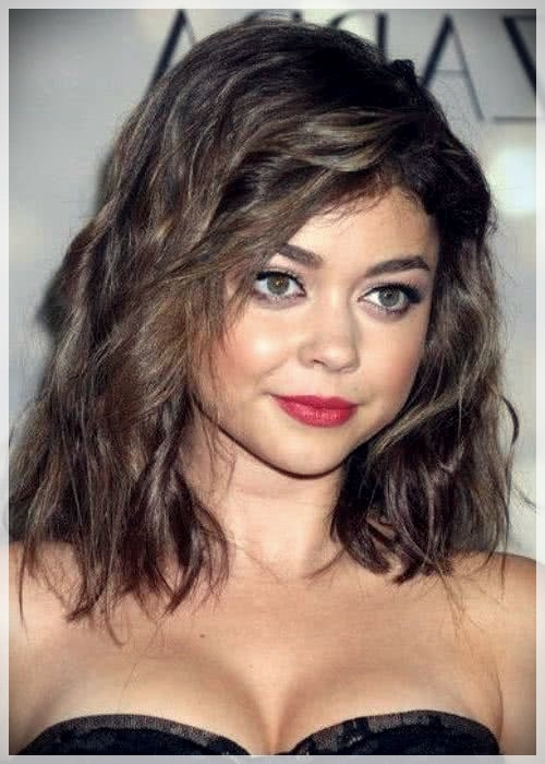 Haircuts for Round Face 2019: photos and ideas - Haircuts for Round Face 2019 25