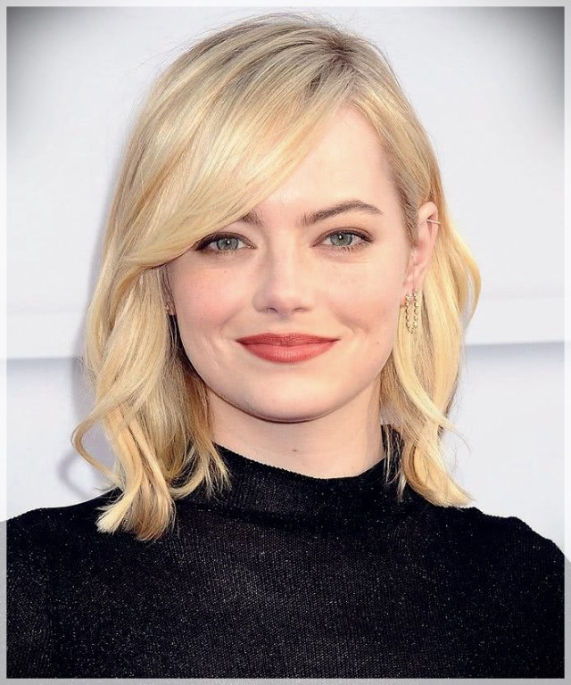 Haircuts for Round Face 2019: photos and ideas - Haircuts for Round Face 2019 35