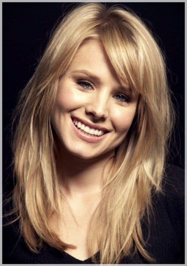 Haircuts for Round Face 2019: photos and ideas - Haircuts for Round Face 2019 41