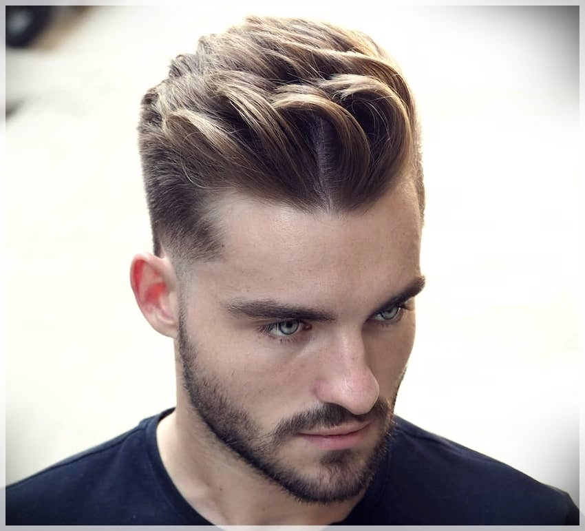 Men S Haircut 2019 Shades Of Shaved And Colored Hair Short And