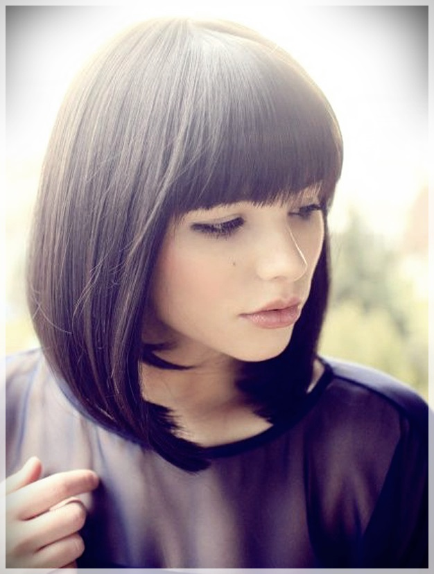 16 Hair Bangs Ideas - hair bangs ideas 9