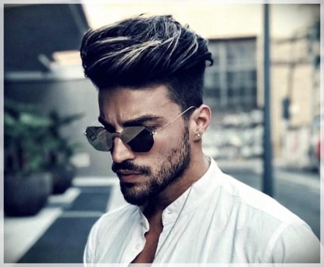 Trendy male cuts. Pompadour, the cut for men that always comes back into fashion - pompadour 7