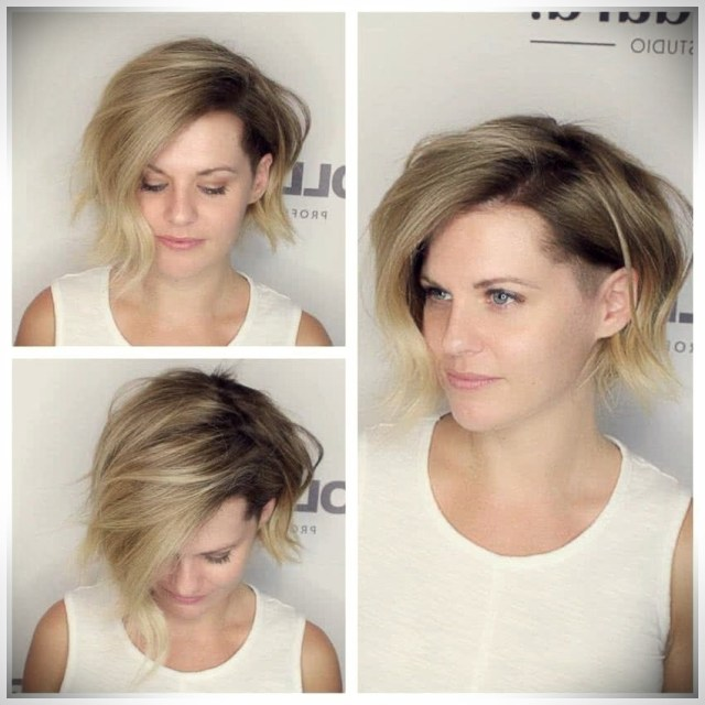 Best Short Haircuts 2019: trends and photos - Best Short haircuts 2019 48