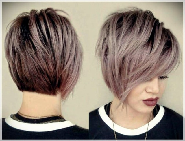 Best Short Haircuts 2019: trends and photos - Best Short haircuts 2019 49