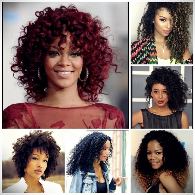 Curly or wavy haircuts 2019