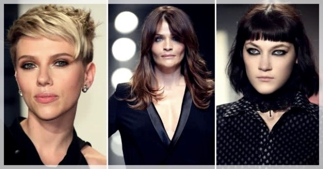 Haircuts with bangs 2019: photos and trends - Haircuts with bangs 2019 22