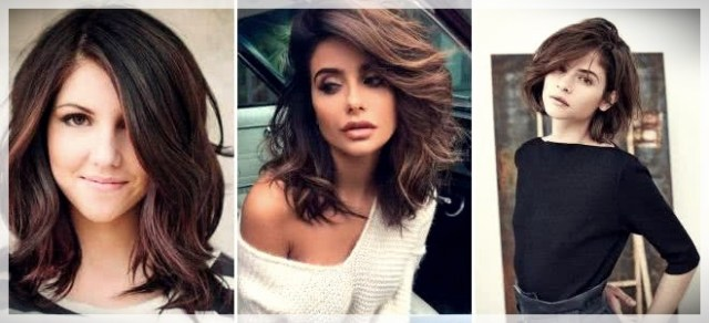Haircuts with bangs 2019: photos and trends - Haircuts with bangs 2019 26