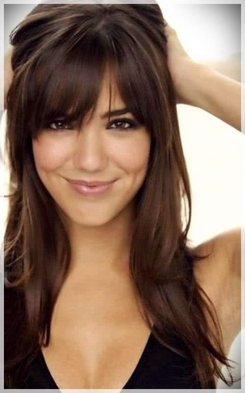 Haircuts with bangs 2019: photos and trends - Haircuts with bangs 2019 38