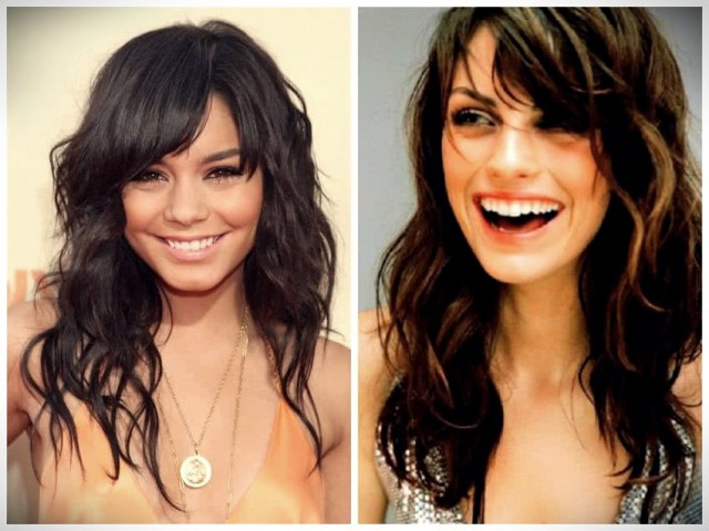 Haircuts with bangs 2019: photos and trends - Haircuts with bangs 2019 40