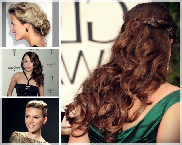 Party Hairstyles 2019 Trends And Photos Short And Curly Haircuts