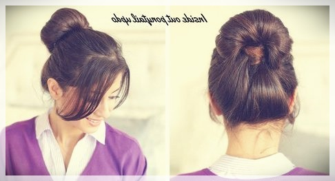 Updos 2019 fashion trends - updos 2019 26