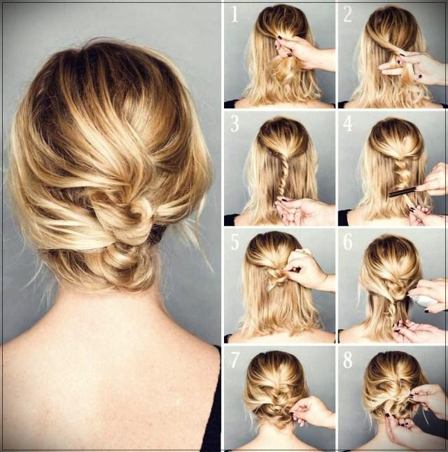 Short and medium hairstyles: beautiful ideas! - Short and medium hairstyles 10
