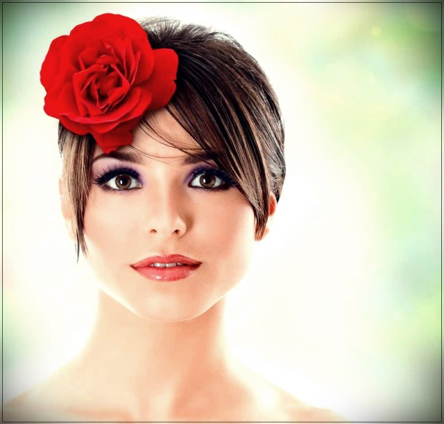 Short and medium hairstyles: beautiful ideas! - Short and medium hairstyles 33