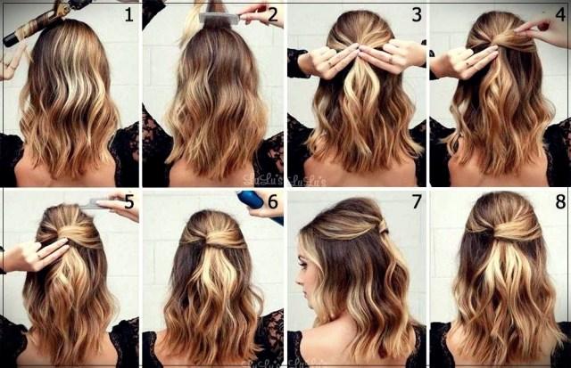 Short and medium hairstyles: beautiful ideas! - Short and medium hairstyles 6