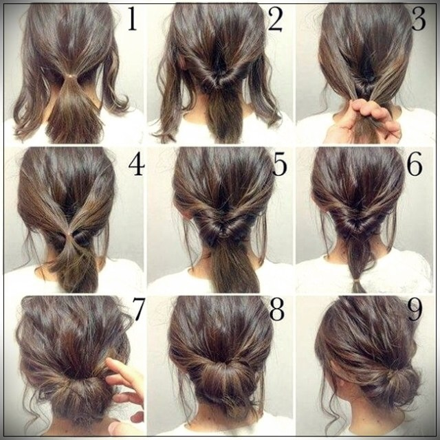 Easy Hairstyles 2019 step by step - easy hairstyles 2019 5