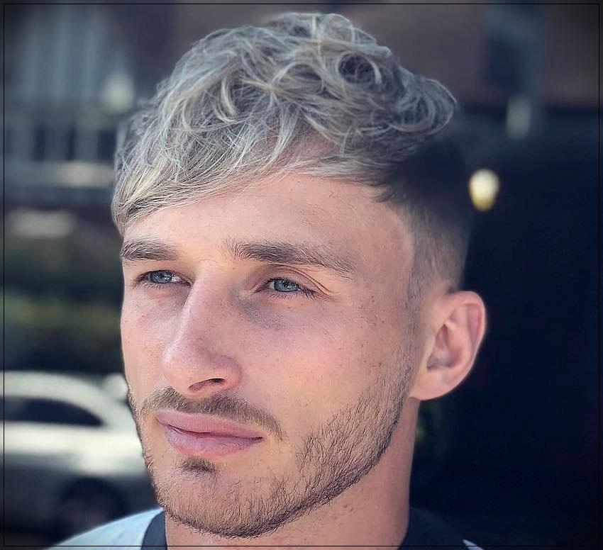 Gray hair man: trends, colors and shades of 2019 - gray hair man 12