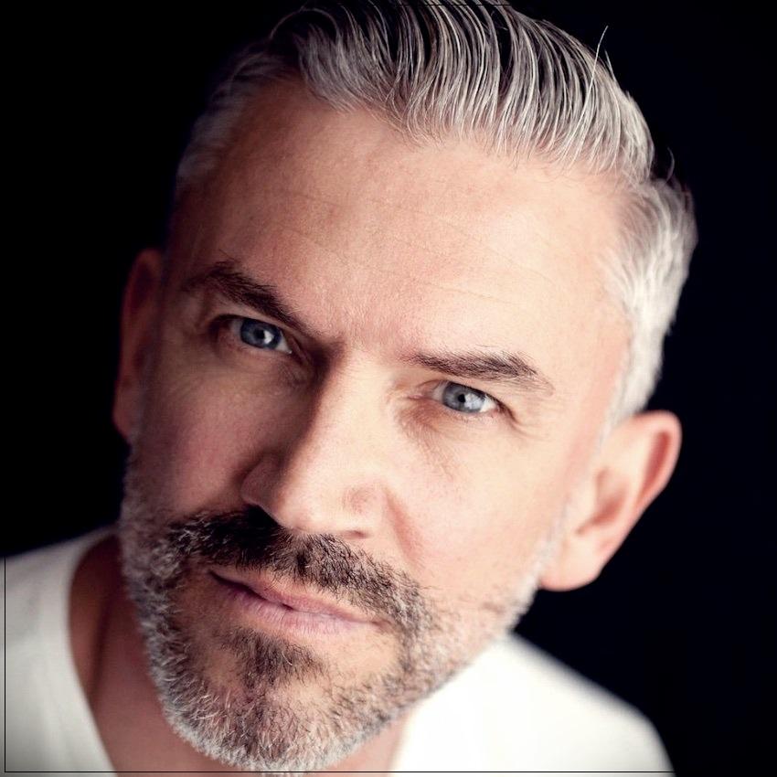 Gray hair man: trends, colors and shades of 2019 - gray hair man 6