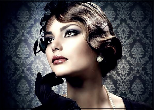 Trendy hairstyles for short hair quickly and beautifully. Elegant stacking options - hairstyles for short hair 6