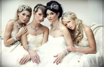 wedding hairstyles in autumn-winter 2018-2019