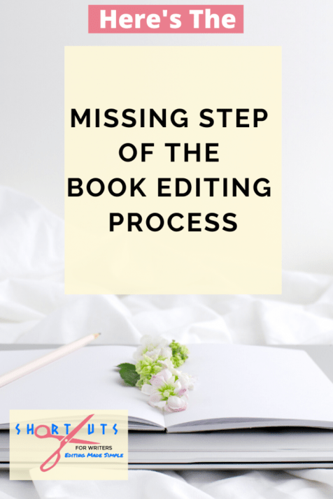 book editing proccess