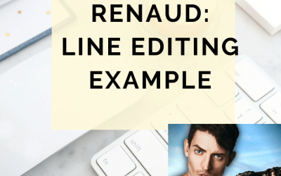Behind The Rewrite With Alice Renaud: Fleshing Out With Line Editing Example