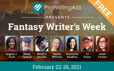 Sign Up For Free Fantasy Writer's Tips – Feb. 22-26