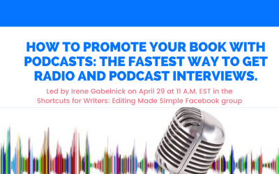 Free Workshop: How To Promote Your Book With Podcasts With @irenegabelnick