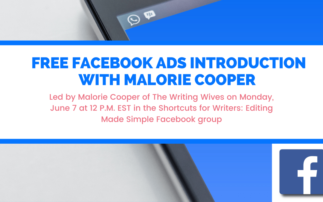 Free Facebook Ads For Authors Introduction With @MDCooperAuthor