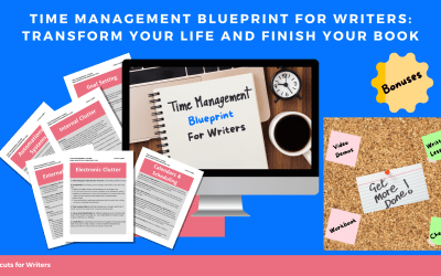 New Time Management For Writers Course – Includes Bonuses