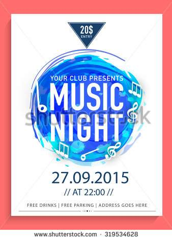 stock-vector-creative-abstract-flyer-template-or-banner-design-with-date-and-time-details-for-music-night-319534628