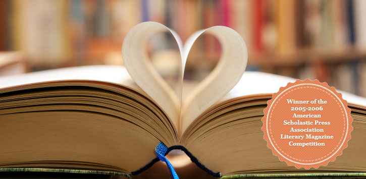 Book laying open with pages forming a heart