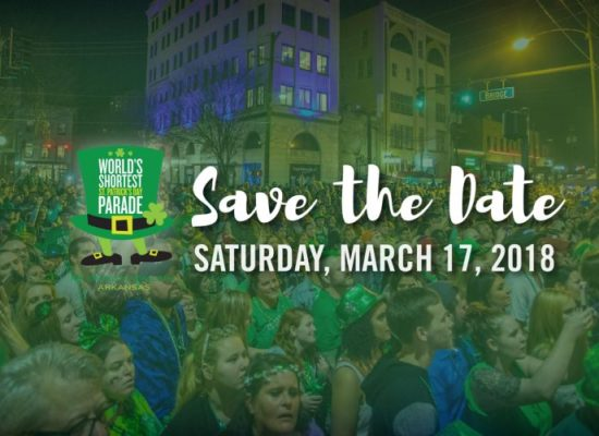 SAVE THE DATE FOR ST PADDY'S 2018