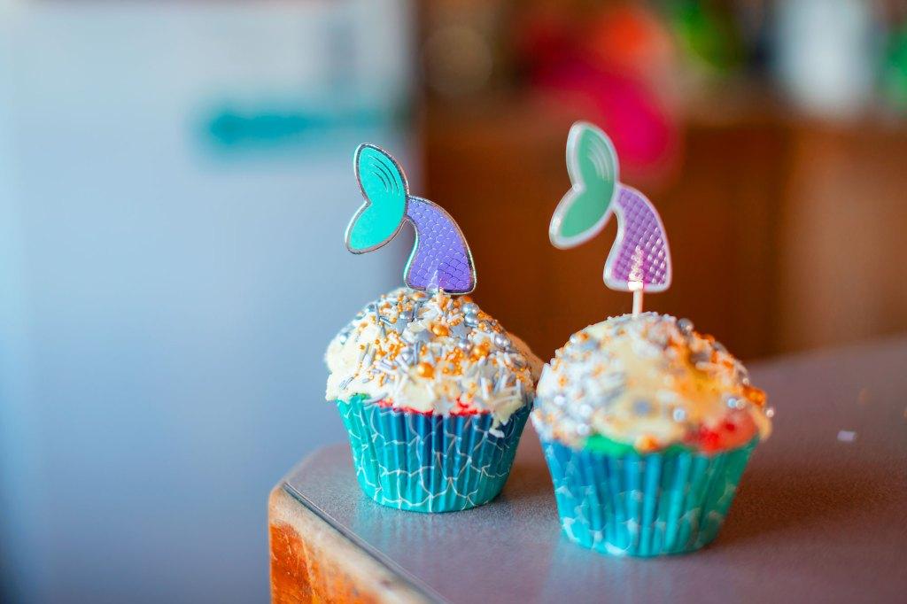 Rainbow Cupcake Example 2