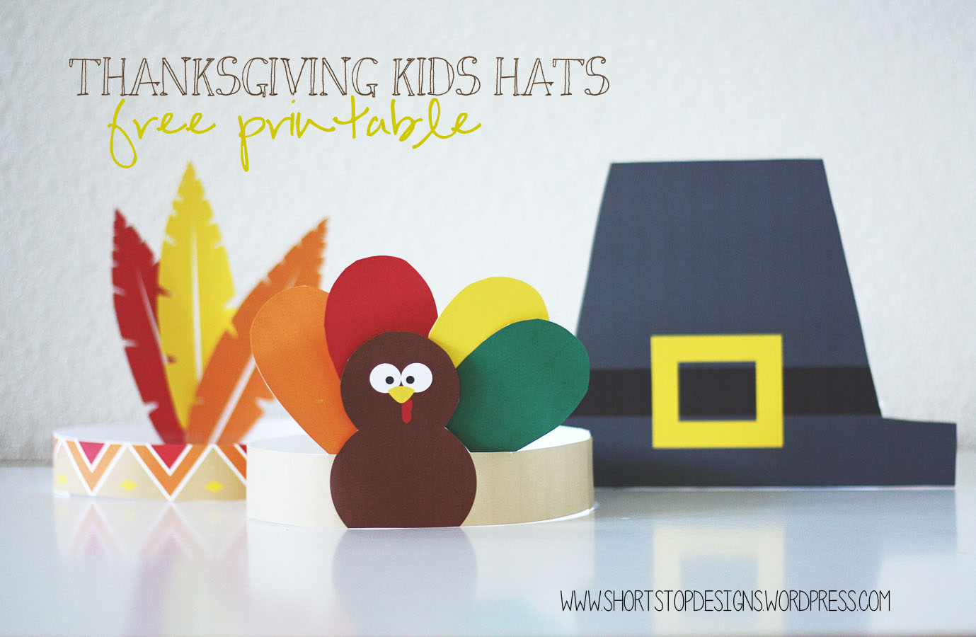 photo about Printable Pilgrim Hats identified as Thanksgiving Children Hats Free of charge Printables Quick Protect against Options