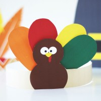 Thanksgiving Kids Hats - Free Printables