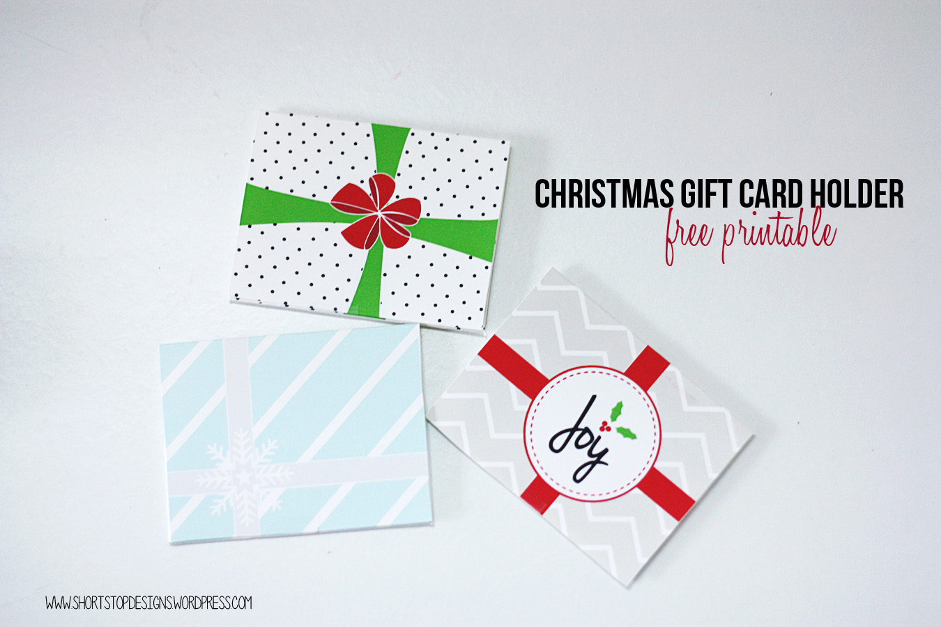 picture relating to Printable Gift Card Holders identify Cost-free Printable Xmas Reward Card Holders Quick Protect against Layouts