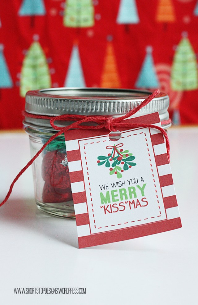 Kisses Gift Tag