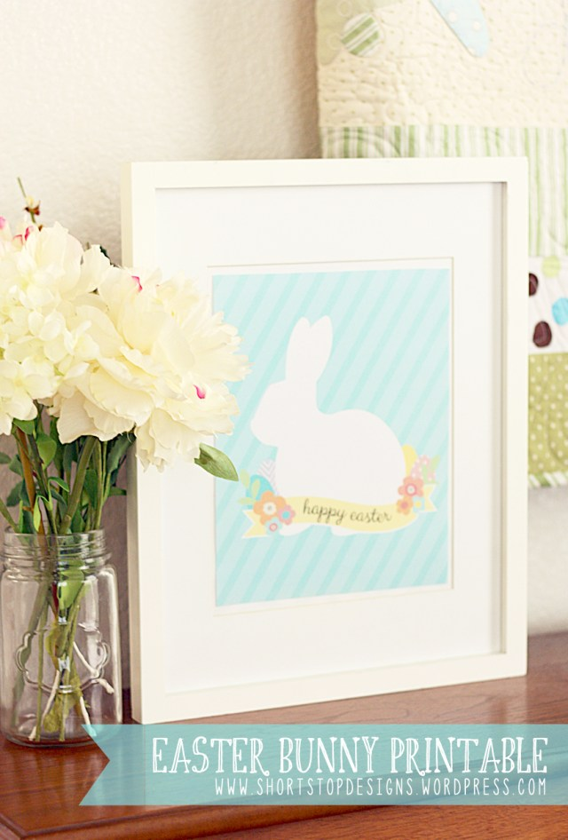Easter Bunny Printable Picture