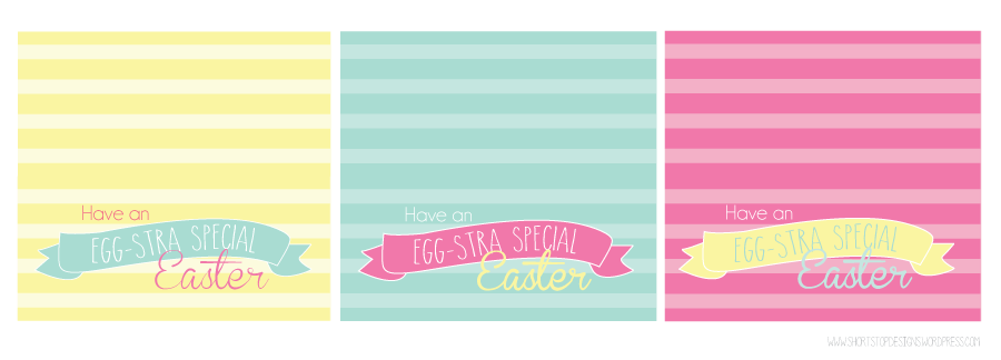 Easter gift tags short stop designs if my family and i dont eat it all before then no promises if youre self control is better than ours here are some cute easter gift tags to use negle Gallery