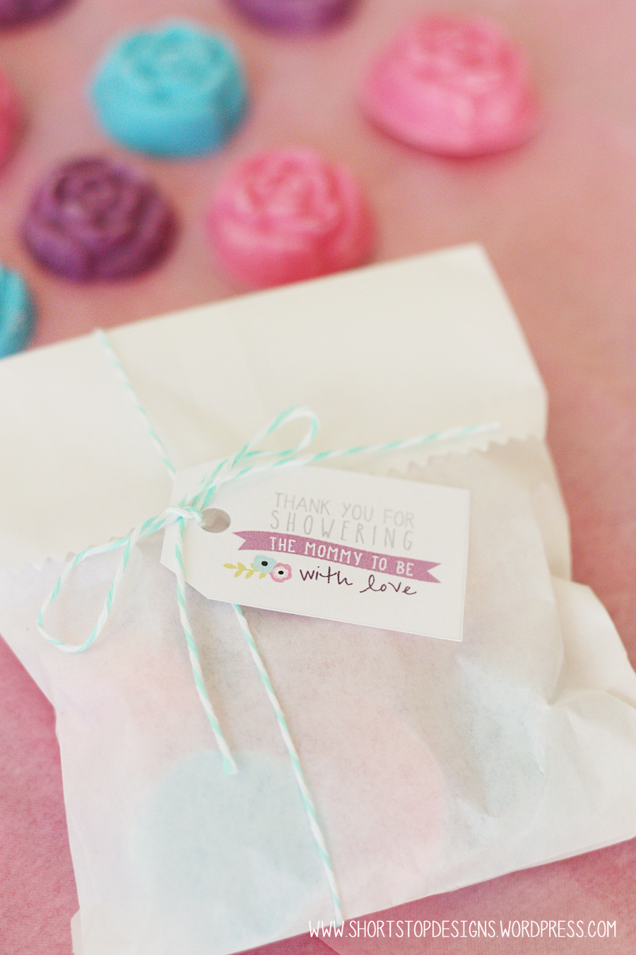 Spring baby shower free printables short stop designs spring baby shower gift tags download here negle Image collections