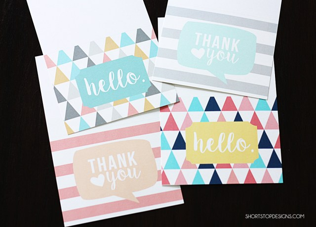 PRINTABLE NOTE CARDS 3