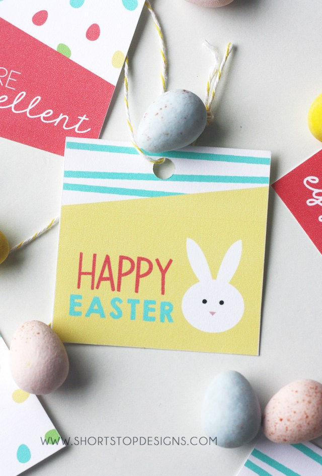 Happy Easter Gift Tag