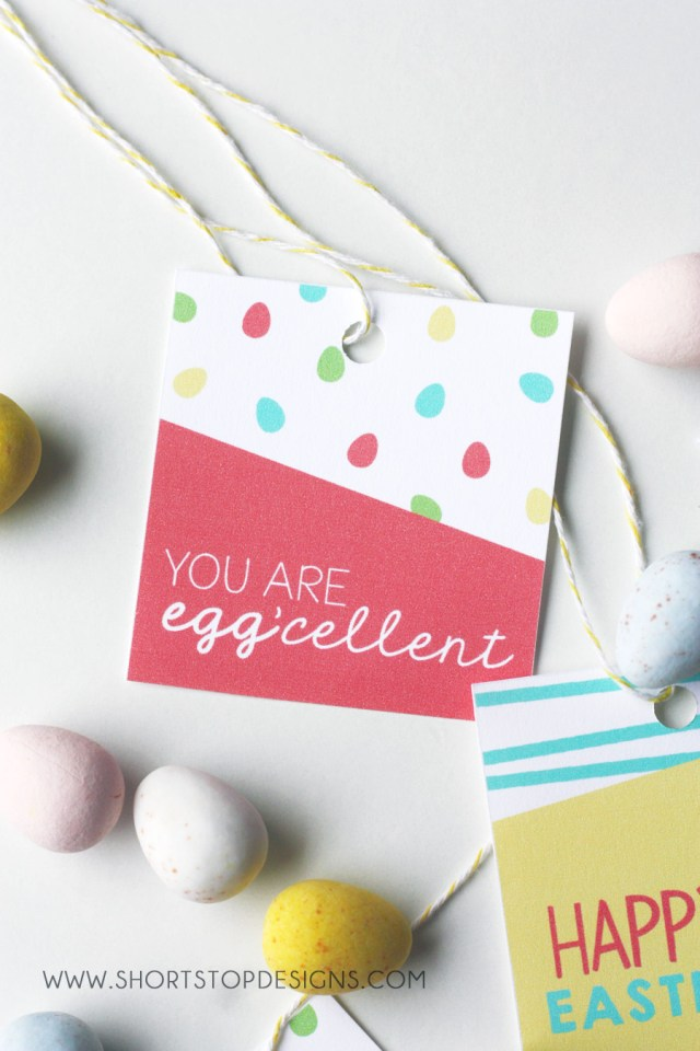 You are Eggcellent Gift Tag