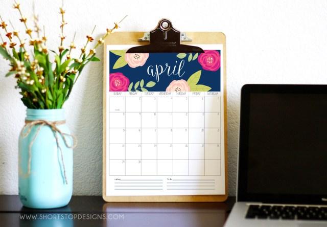 2018 Calendar Printable
