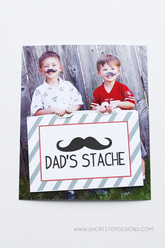 DIY Dad's Stache